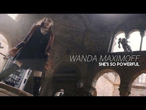 wanda maximoff / unstoppable