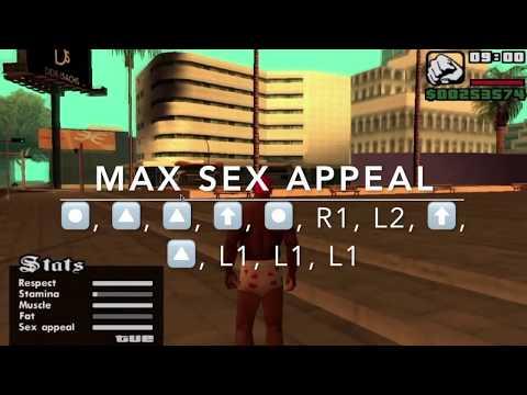Ps2 gta san andreas sex minigame cheat codes