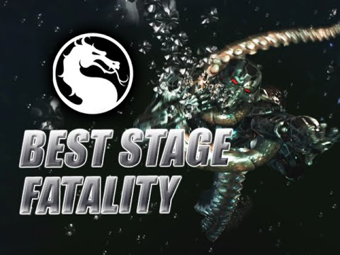 BEST STAGE FATALITY: Triborg/Smoke Week Of! Mortal Kombat XL - Online Ranked
