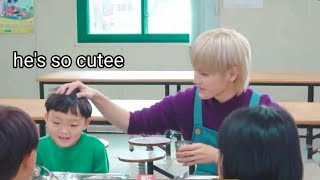 NCT most adorable moments with kids