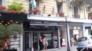 Велосипедное такси в Ницце