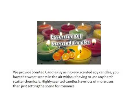 Battery Candles, Electric & Handmade Candles, Scented Candles @ www.dcandles.co.uk