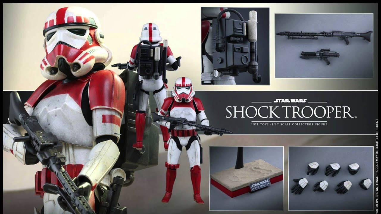 Star Wars Toy Game : Star wars battlefront hot toys shock trooper scale