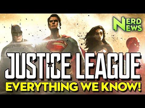 HUGE Justice League News Drop!