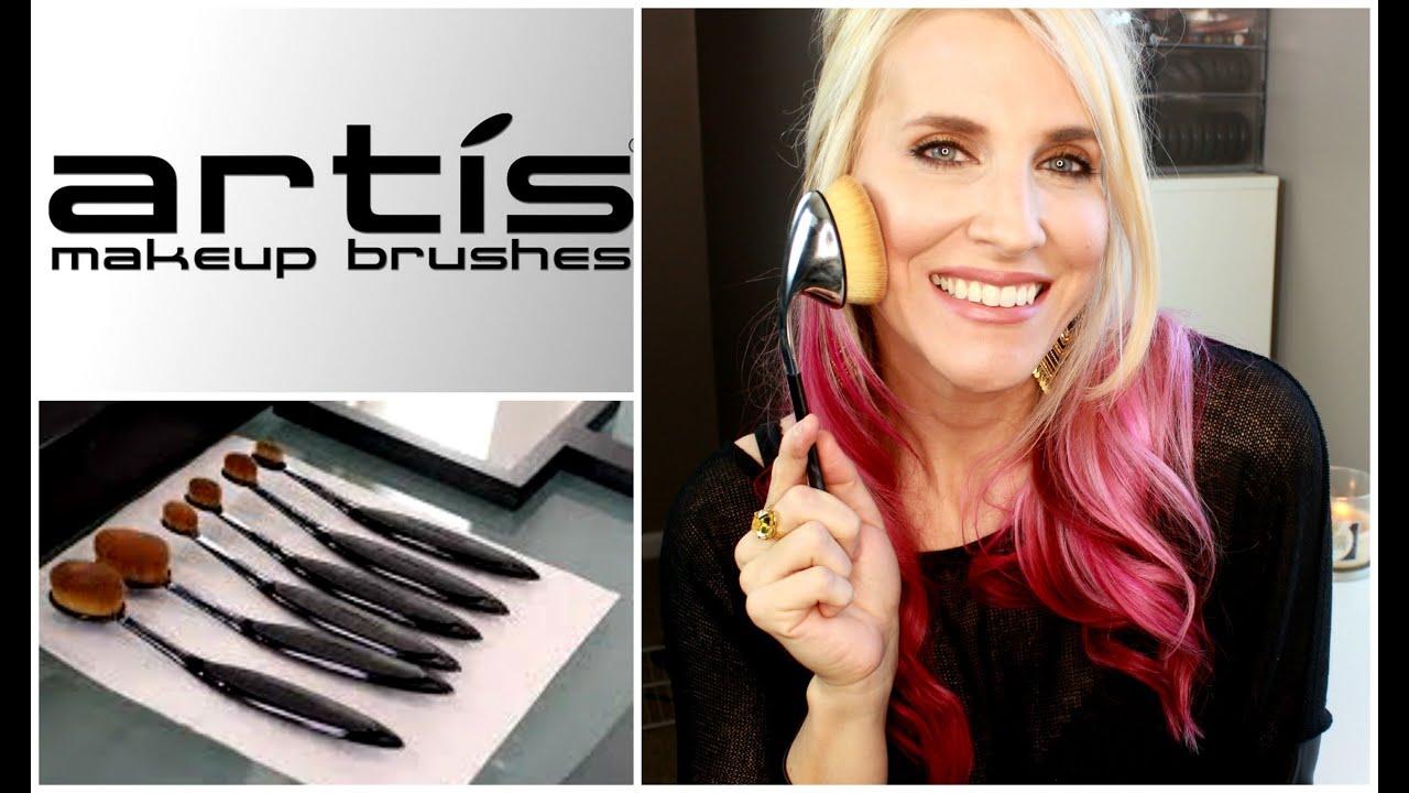 Artis oval 8 brush worth the hype youtube for Brush craft vs artis