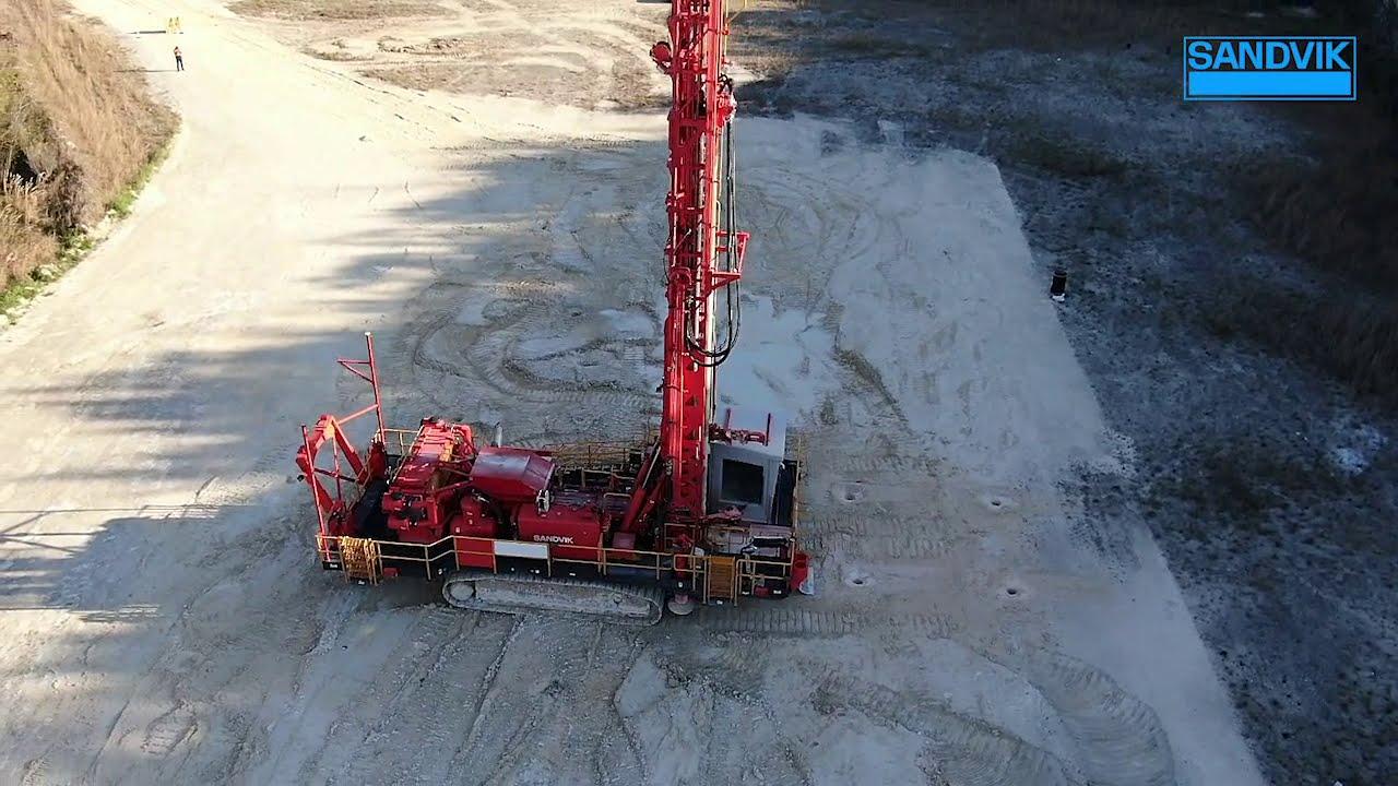 Sandvik DR412i - AutoMine® Surface Drilling