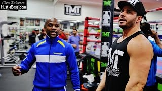 Floyd Mayweather Back Inside The Mayweather Boxing Club Days After Final Bout With Andre Berto