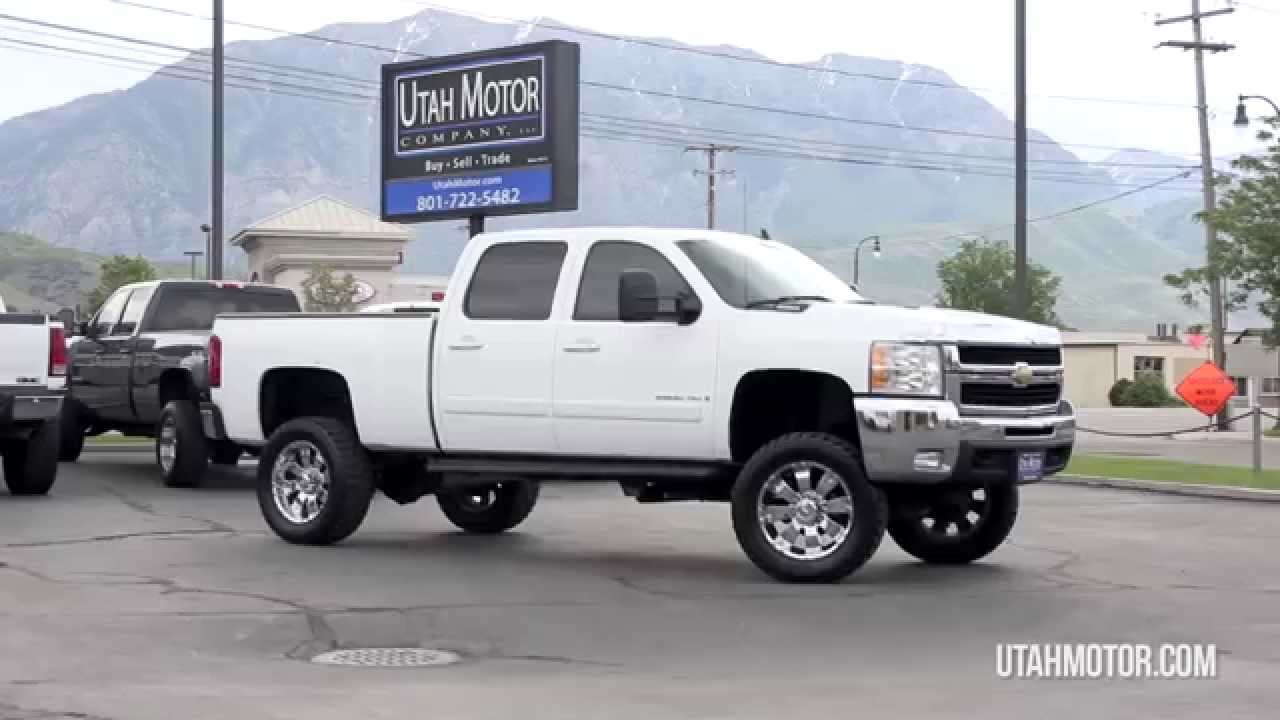 Silverado 2007 chevrolet silverado 2500 : 2007 Chevrolet Silverado 2500HD LTZ Lifted Chrome Wheels - Utah ...