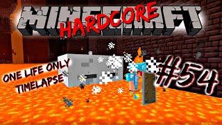 [Minecraft Timelapse] Hardcore - #54 Lava and Ghast vs Noob