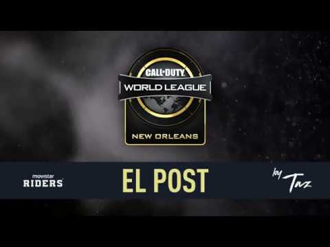 POST CALL OF DUTY WORLD LEAGUE NEW ORLEANS