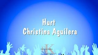 Hurt - christina aguilera (karaoke version)