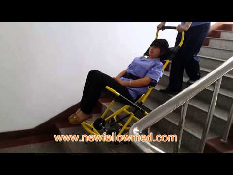 Stair Stretcher NF-W4,Emergency Stair Wheel Chair,ambulance Equipment,Medical EMS,In China