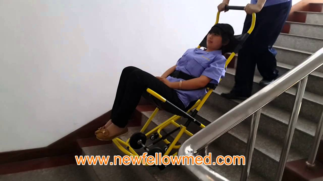 Stair Stretcher NFW4Emergency Stair Wheel Chair