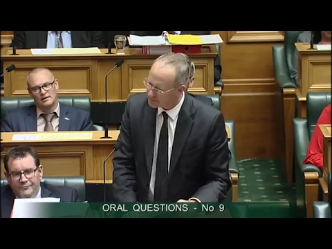 Question 9 - Phil Twyford to the Minister of Housing