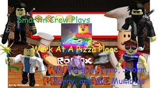 Roblox ✨Special Pizzas✨Work at a Pizza Place Part 41 NEON PIZZA! W/ Pen, Pyro, Storm, Jerry