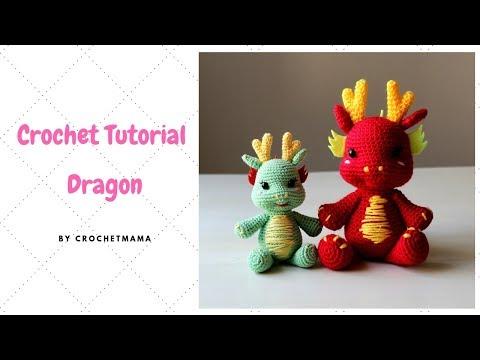 Crochet Dragon Amigurumi Tutorial & Pattern