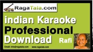 Aankhon mein qayamat ke kajal - Rafi Karaoke Tracks - RagaTala