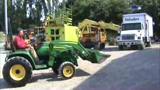 Sold! 2007 John Deere 3320 Compact Tractor Loader 3 PT PTO Yanmar bidadoo.com