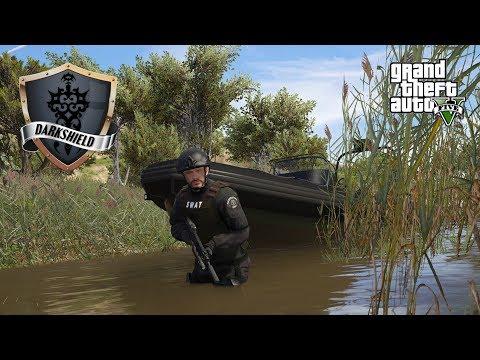 GTA 5 Roleplay - Darkshield - #1 -  SWAT in the Swamp.