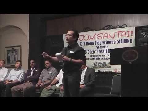 Pengamal Undang-Undang Kongsi Pandangan Bersama Bona Fide Friends of UMNO