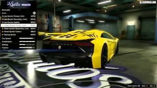 GTA V Крутой тюнинг авто ( Часть 1 )