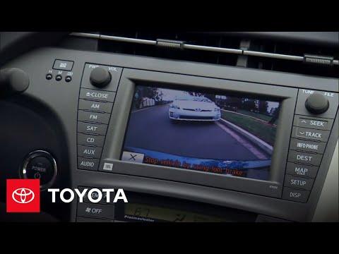 Prius How To Backup Camera 2010 Prius Toyota Youtube