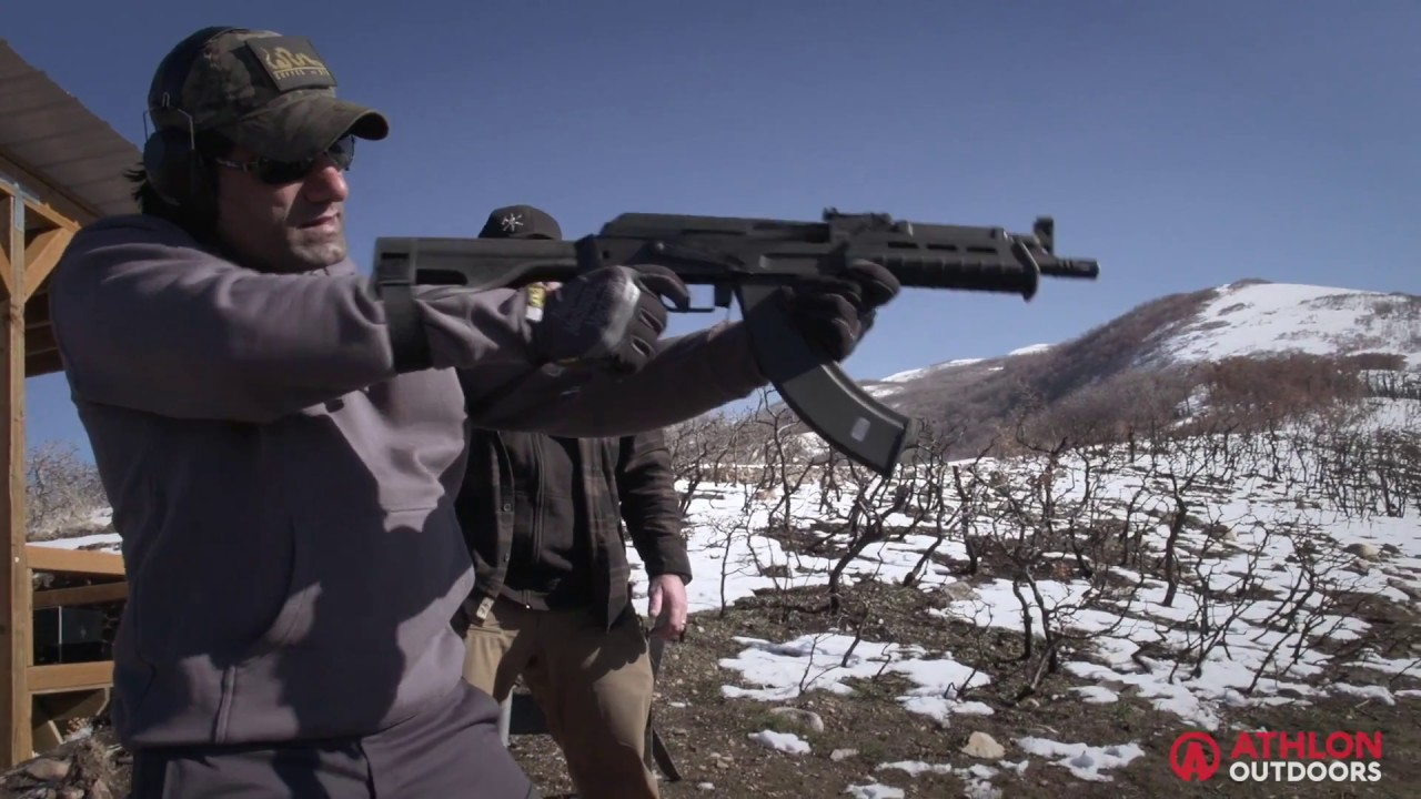Torture Testing the AK-47-Style Century Arms C39v2 Pistol