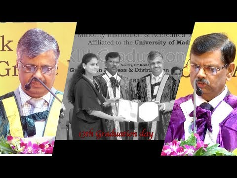 13th Graduation Ceremony at Partrician College Of  Arts and Science |Minaliya Tv