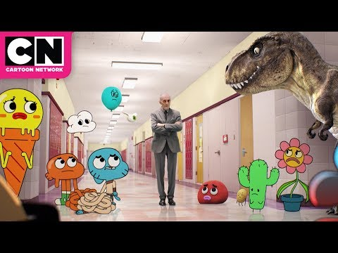 Superintendent Evil Pays a Visit   The Amazing World of Gumball   Cartoon Network