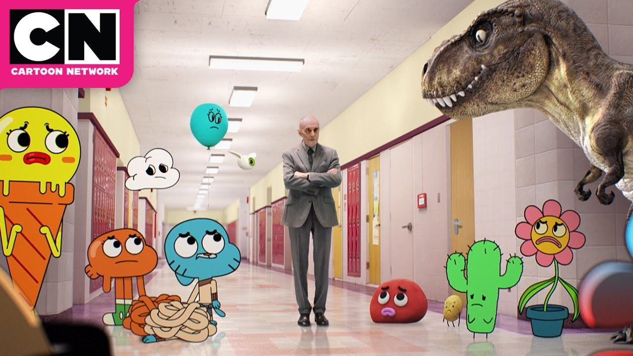 Download Superintendent Evil Pays a Visit | The Amazing World of Gumball | Cartoon Network
