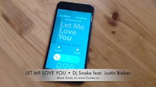 Iphone & android download links in description. let me love you ringtone (dj snake feat. justin bieber tribute remix ringtone) by marimba cover group get it ...