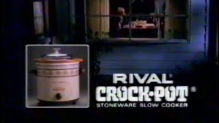 1985 Rival Crock Pot TV Commercial