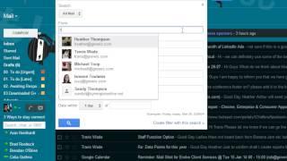 كيفية إنشاء المجلدات مع القواعد في Gmail باستخدام وظيفة البحث
