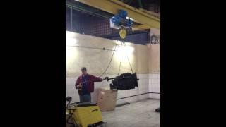 Кран мостовой подвесной г.п. 1 тонна(, 2014-08-30T17:28:33.000Z)