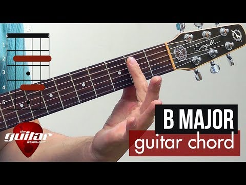 how-to-play-the-b-major-chord-|-beginner-guitar-lesson