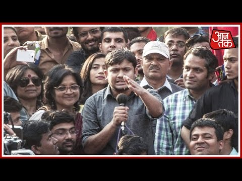 Ramjas College Row: Kanhaiya Kumar Joins Delhi University March