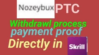 Nozeybux Payment process and payment proof/ Earn money online in Nepal 2020/