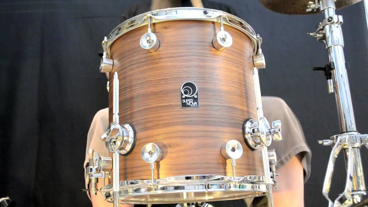 14 X 14 Full Birch Floor Tom Snare Walnut Veneer Youtube
