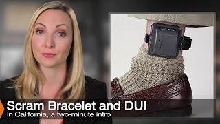 The SCRAM Bracelet as Part of a DUI Plea Bargain