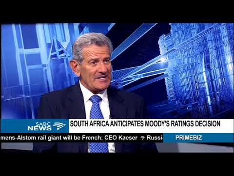 PREVIEW: Moody's decision on SA's sovereign credit rating - Dr Azar Jammine