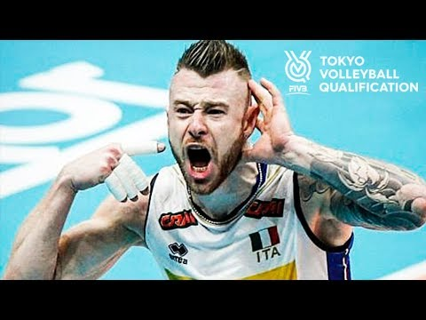 Ivan Zaytsev | Best Aсtions FIVB OQT 2019