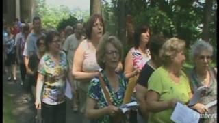 Processione San vito Martire Presenta Umberto of Naples Sponsorizzata da Aquilonesi Oriundi di Aquilonia Avellino Italia  Residenti  nel NJ u s a