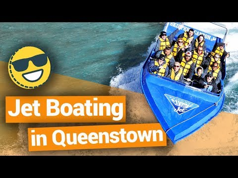 Jet Boating in Queenstown  –  New Zealand's Biggest Gap Year – Backpacker Guide New Zealand