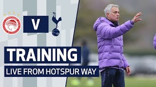 TRAINING | SPURS PREPARE FOR OLYMPIACOS