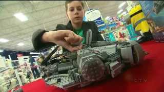 Calling it a career: 13-year-old toy tester to retire