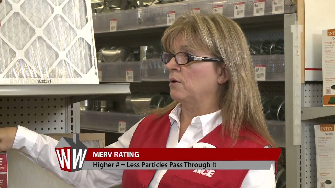 Ace Hardware Helpful Tip: Furnace Filters - YouTube
