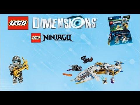 Lego Dimensions ZANE Ninjago Fun Pack ninjacopter instructions ...