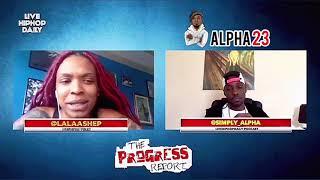 """Alpha23 TV Presents """"The Progress Report"""" 4/23/2020 Interview (Clip)"""