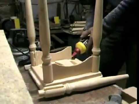 видео: Мебель для кухни. Как сделать табурет?