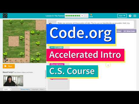 The Farmer - Lesson 9.9 Tutorial with Answers - Code.org CS Accelerated Intro to CS Course
